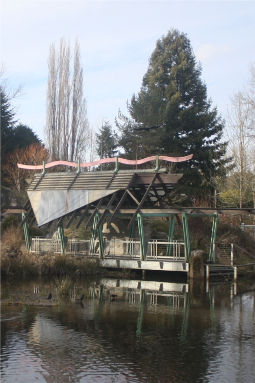 Meadowbrook Pond pavilion
