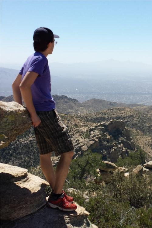 Andrew mountaineer