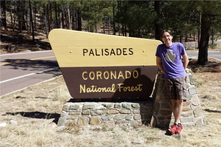 Coronado National Forest Sign