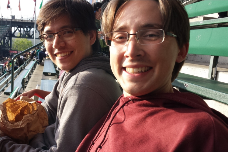 Bryce and Andrew baseball