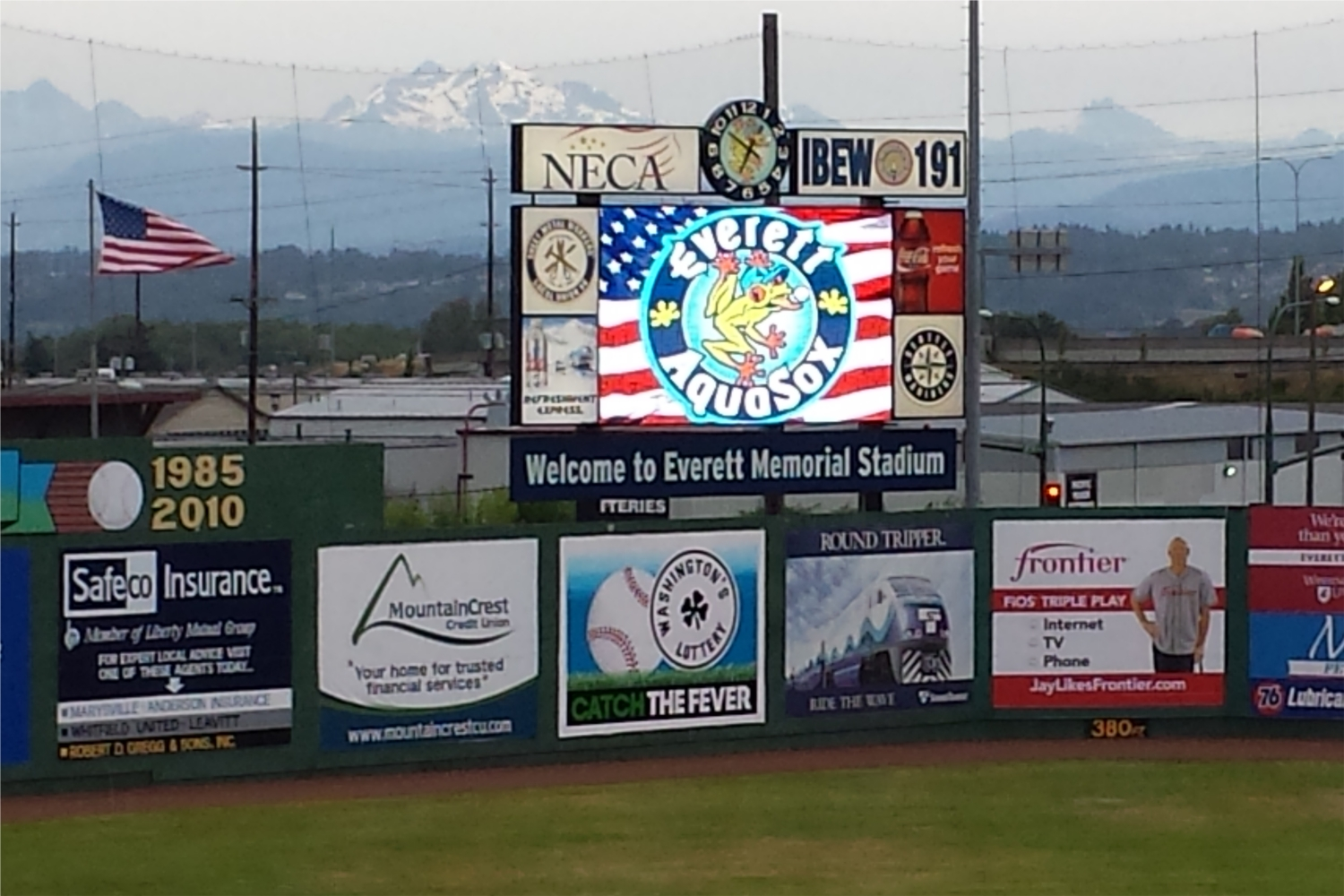 Aquasox Video Board